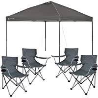Sale Ozark Trail Instant 10'x10' <b>Straight</b> Leg Canopy (Dark Gray ...
