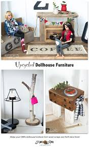 how to make barbie furniture. upcycled barbie doll house reveal funky junk interiors and how to make furniture u