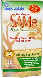 Nutralife The Original SAMe -- 400 mg - 30 Enteric ... - Amazon.com