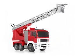 <b>Радиоуправляемая пожарная машина</b> Double Eagle, брызгает ...