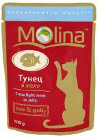 Корм <b>Molina</b> (<b>Молина</b>) для кошек влажный купить в Новосибирске ...