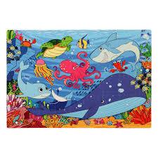 Under the <b>Sea Foam</b> Floor Puzzle - 54 Pieces - <b>Premium</b> Joy