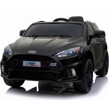 <b>Детский электромобиль Dake</b> Ford Focus RS Black 12V 2.4G ...