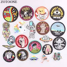 US $0.31 30% OFF <b>ZOTOONE</b> 1Ps UFO Astral <b>Planet</b> Parches ...