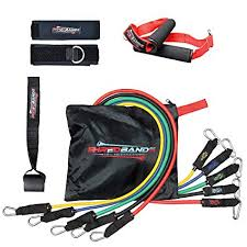 Resistance Bands - 11pc Set - With Door Anchor ... - Amazon.com