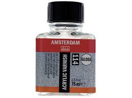Медиум для акрила Amsterdam (094) глянцевый 1 литр сохраняя ...