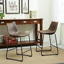 Roundhill Furniture Lotusville Vintage PU Leather ... - Amazon.com