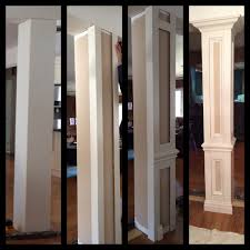 do it yourself columns to divide living room and dining room areas beautiful living room pillar