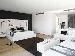 black bedroom white
