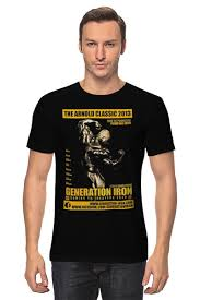 <b>Футболка классическая</b> Generation <b>Iron</b> / Поколение Железа ...