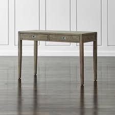 home office desks morris 48quot ash grey writing desk barrel office barrel middot