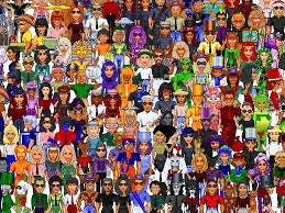This Old Tech  Remembering WorldsAway     s avatars and virtual     PCWorld this old tech worldsaway mosaic of avatars