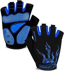 MOREOK Mens Cycling Gloves, Half Finger Biking ... - Amazon.com