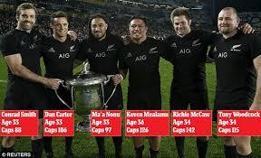 Image result for 5 all blacks retire