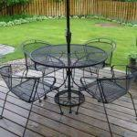 black wrought iron bistro set outdoor patio bistro table and with regard to cast iron attractive rod iron patio