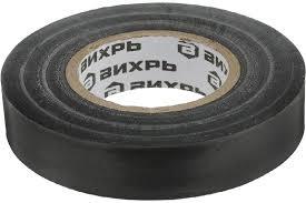 Изолента <b>Вихрь 10m * 15mm</b> * 0,15mm black — купить по лучшей ...