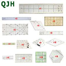 14 models Complete style <b>Patchwork</b> ruler <b>DIY sewing tool</b> ...
