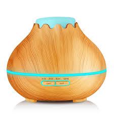 <b>400ml Air Humidifier</b> Essential Oil <b>Diffuser Aroma</b> Lamp ...