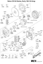 delco remy 10si alternator wiring solidfonts 2 wire alternator wiring diagram on 2g 4 wire alternator wiring diagram ac delco