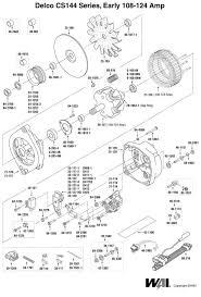 delco remy si alternator wiring solidfonts 2 wire alternator wiring diagram on 2g 4 wire alternator wiring diagram ac delco