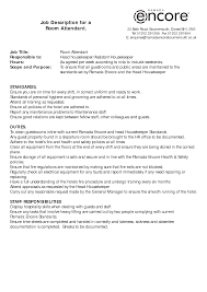 room attendant resume no experience cipanewsletter room attendant job description related keywords u0026 suggestions
