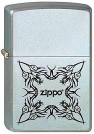 <b>Зажигалка ZIPPO Tattoo Design</b> Satin Chrome латунь/никель-хром ...