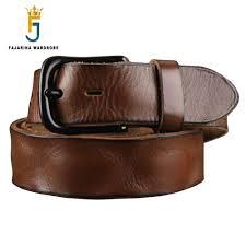 <b>FAJARINA Top Quality</b> Men's Retro 3.8cm Width Belt Fashion ...