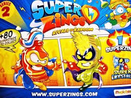 <b>SUPERZINGS Series</b> 2 - CHOOSE YOUR FIGURES - including ...