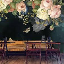 Custom 3D Wallpaper Silk Cloth <b>Waterproof</b> Canvas Murals Wall ...