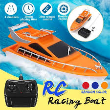 <b>RC Boat</b> Electric Toy Boat Remote Control Twin Motor <b>High Speed</b> ...