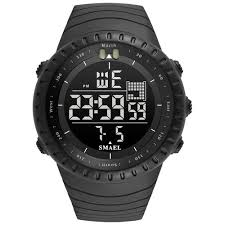 <b>Smael Men Watches</b> Big Dial <b>Digital Watch Man</b> Water Resisitant ...
