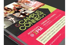 campus connect flyer template by godser design bundles campus connect flyer template example image 2