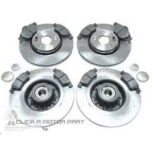 <b>RENAULT MEGANE MK2</b> 16V REAR BRAKE DISCS AND PADS ...
