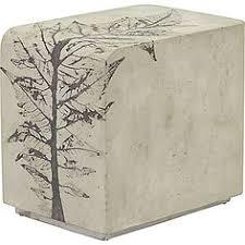mcguire furniture rectangular concrete side table phc 978 mcguire furniture company la 14 jolie