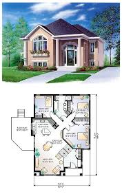 Colonial House Plan   House plans  Colonial and HouseHouse Plan   Total living area  sq ft  bedrooms  amp