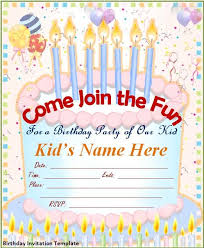 Birthday invitations, Templates and Invitations on Pinterest free printable kids birthday party invitations templates - Google Search