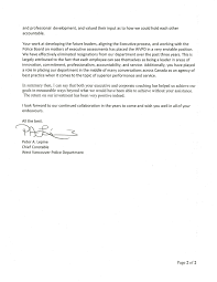 letter of recommendation for police officer examples letter of recommendation for police officer examples