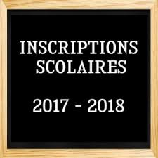 """Résultat de recherche d'images pour """"inscriptions scolaires 2017/2018"""""""
