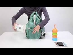 <b>Рюкзак сумка для мамы</b> с USB! - YouTube