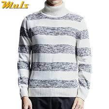 Thicken Mens <b>Turtleneck Sweater Pullovers Winter</b> Colored Wool ...