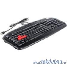 """<b>Клавиатура A4Tech</b> """"<b>KB</b>-<b>28G</b>-<b>1</b>"""", 104+12кн., черный (<b>USB</b>) (ret)"""