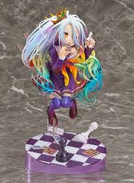 Allegro Huyer <b>Anime</b> No Game No <b>Life</b> Shiro Card Figure <b>New 19cm</b> ...