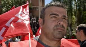 El secretario general de Comisiones Obreras (CCOO) de Cuenca, Pedro Lucas, empañó el Día de los Trabajadores con este grito. - lucas