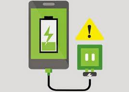 Image result for baterai smartphone rusak