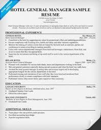 general manager resume  general manager resume templates   resume    hotel general  manager resume  resumecompanion com    resume samples