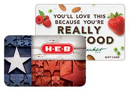 Gift Cards and e Gift Cards for HEB and Central Market