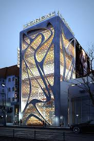 beautiful proposed loreal office building in stockholm sweden by iamz beautiful office building