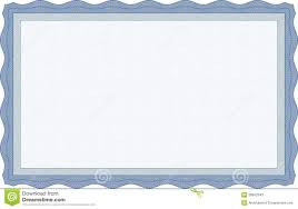 blue certificate template stock photos image 28552543 blue certificate template