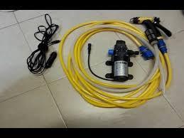 car wash pump 12V <b>80W</b> - YouTube