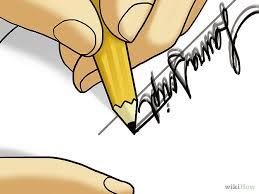 Resultado de imagem para assinatura falsificada